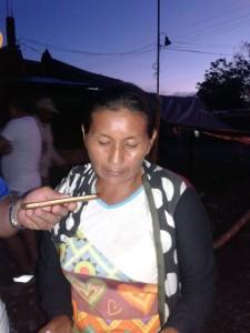 Gloria Oliva Cuenan líder campesina