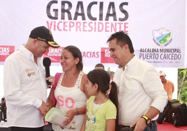Entrega de 192 viviendas gratis en Puerto Caicedo