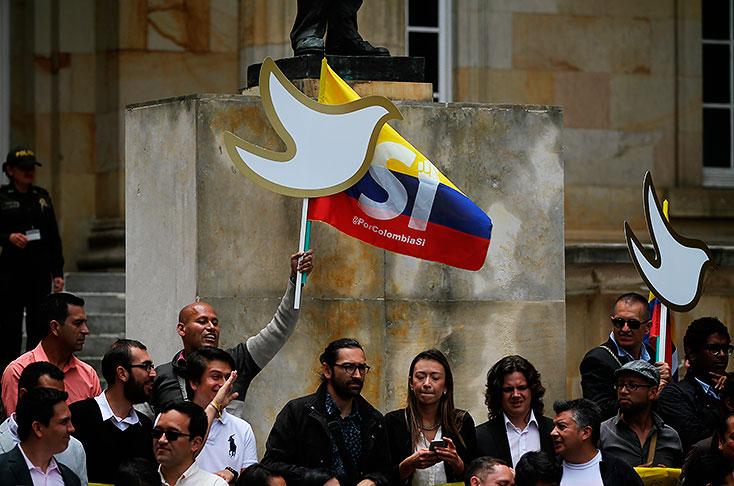 350 mil millones de pesos es el costo estimado de la organización de la jornada de votación para la refrendación de los acuerdos de La Habana. Foto: Colprensa