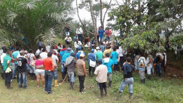 Las manifestaciones se han extendido a los municipios de San Miguel, Orito, Puerto Caicedo y Puerto Asís, Putumayo. / Cortesía