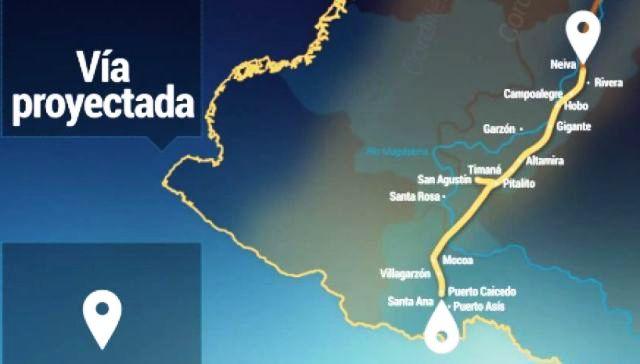 El proyecto en su totalidad tiene una longitud de 447 kilómetros. Foto ANI