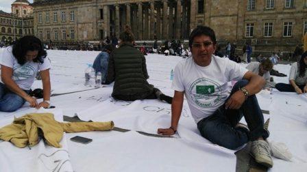 Eder Jahir Sanchez, Representante de la ANUC