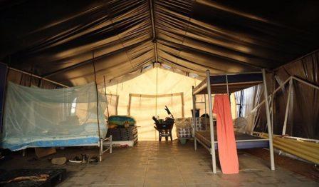 Solo en el Meta están listos los campamentos de la Misión de Monitoreo y Verificación. Foto: Gobernación del Meta