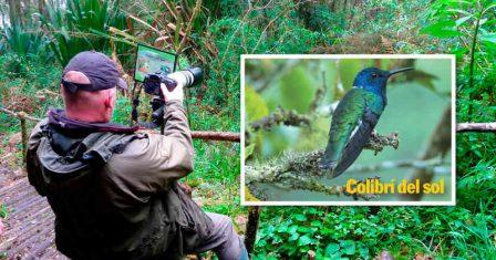 El gobierno espera atraer cerca de 15.000 avistadores de aves cada año, que dejarán recursos en el país por más de 46 millones de dólares. Son turistas de altos ingresos, mayores de 40 años y destinan entre 10 y 15 días para la observación de especies. Foto: Fundación Proaves