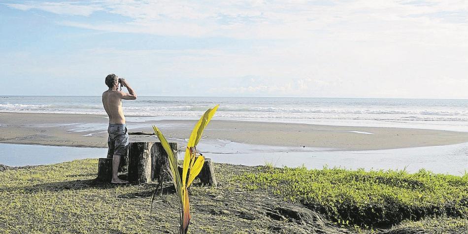 Bahía Solano, uno de las zonas que está aumentando su atractivo turístico, también es visitada por el avistamiento de aves. ARCHIVO PORTAFOLIO.