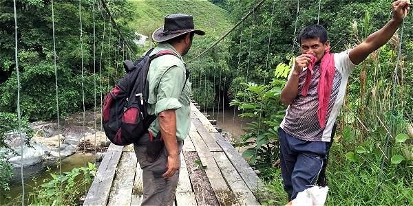 Foto: Archivo particular El antiguo camino de los Andaquíes conecta al Magdalena con la región de la Amazonia.