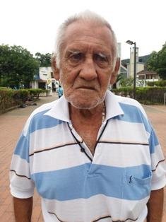 Luis Alfredo López - funcionario de tránsito y movilidad municipal de Villagarzón