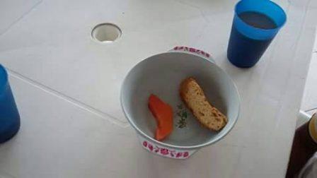 Esta es una de las raciones que le están dando a los niños en Putumayo. Foto : SEmana.com