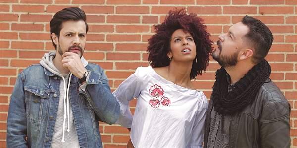 Foto: Archivo particular Sebastián Parra, Elena Molano y Andrés López estarán al frente de 'El crew', uno de los programas bandera de Canal Trece.