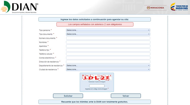 DIAN Medellín atenderá solo con agendamiento web desde noviembre 1