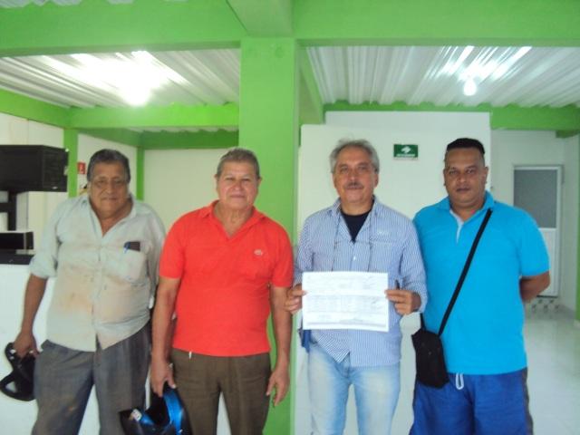 Integrantes del comité que adelanta la revocatoria en el municipio de Orito