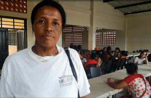 Ana María Castillo, Manipuladora de Alimentos del preescolar José Acevedo Gómez.