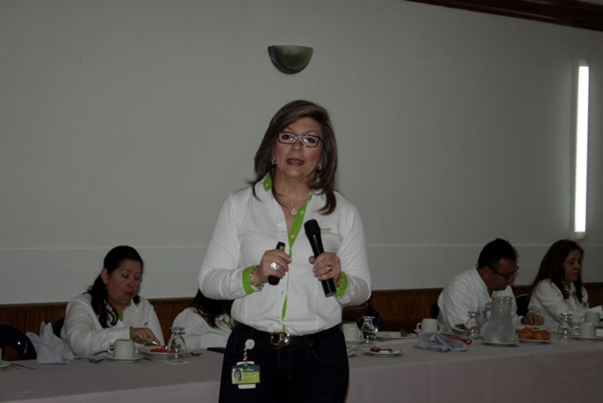 Francy Edith Ramírez, vicepresidenta Regional Sur de Ecopetrol. Fotos Sergio Reyes