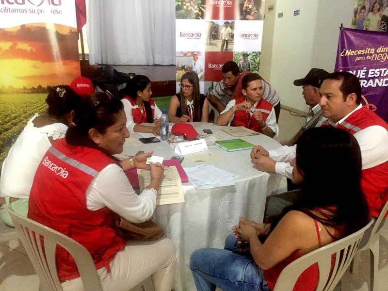 Bancamía en la brigada financiera en Mocoa