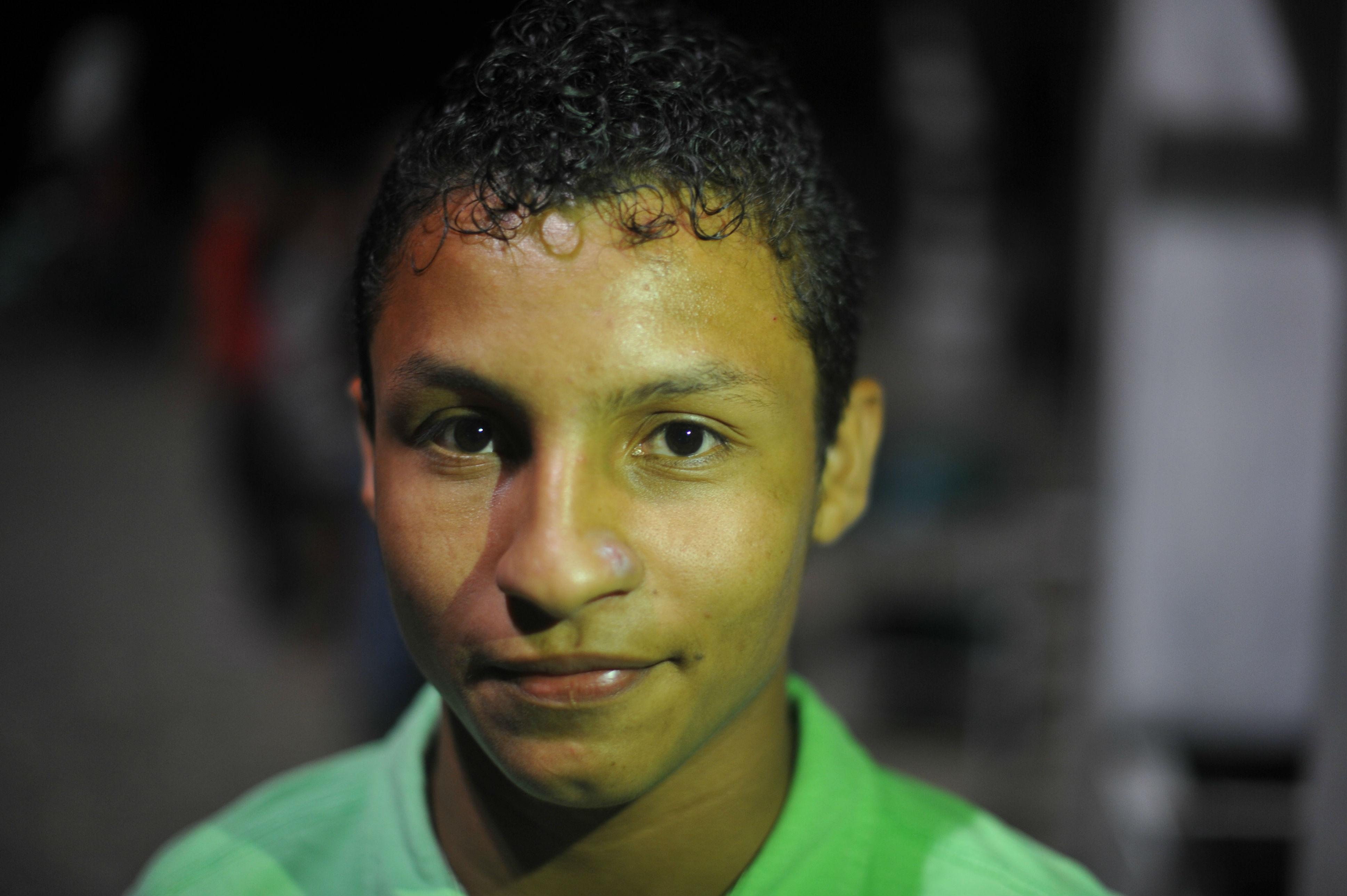 Cristian Cortés, personero del colegio Ciudad Mocoa. Gustavo Torrijos - El Espectador