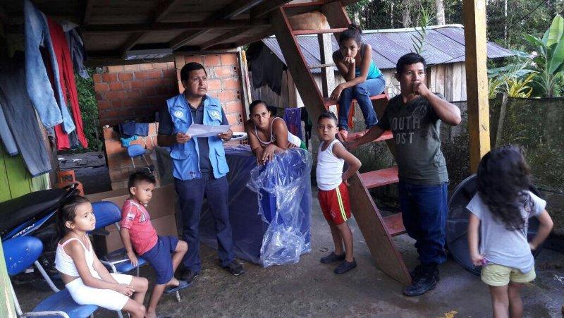 Un mes después de la tragedia los esfuerzos se centran en proyectos de estabilización y reconstrucción liderados por la institucionalidad local con el apoyo de la comunidad internacional y ONG locales. © ACNUR