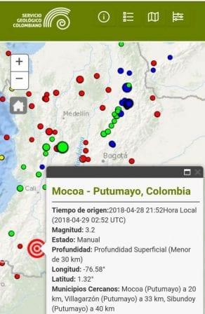 Temblor En Mocoa Miputumayo Com Co