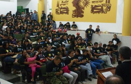 La hora del Planeta en Mocoa y Puerto Asís Putumayo