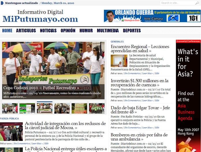 Miputumayo.com.co V3.0