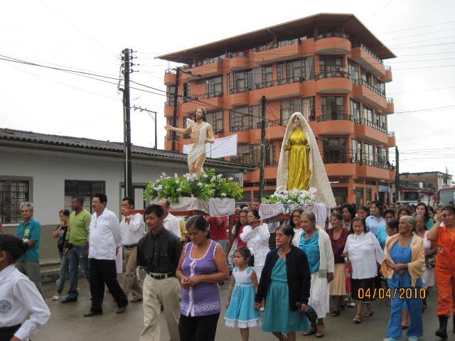 Domingo de Resurrección en Villagarzón
