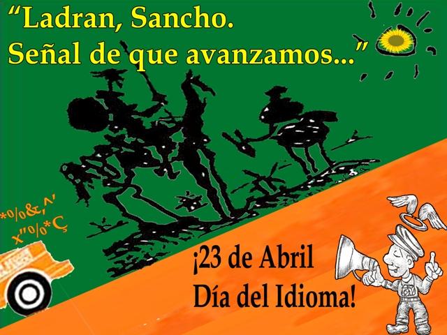 El Quijote de la mancha verde