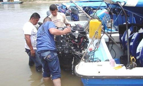 En el Putumayo, fueron certificados navegantes empíricos fluviales