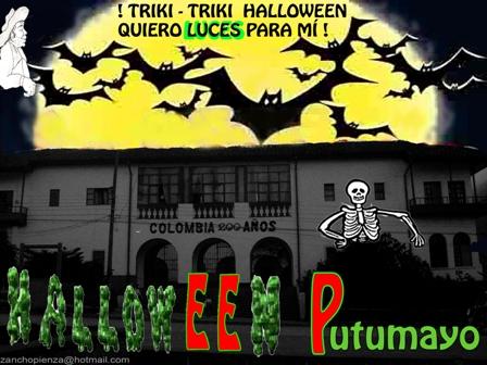 Halloween Putumayo