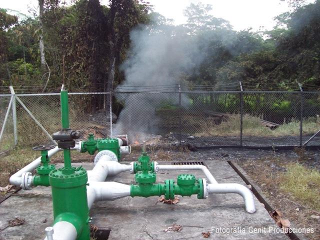 Contaminado con petróleo crudo el río la Hormiga, Un atentado al oleoducto origina la tragedia
