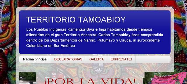 Territorio Ancestral Cacique Carlos Tamoabioy