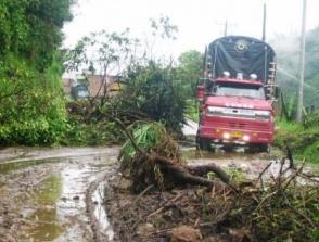 Llamado urgente para no utilizar carretera Pasto – Popayán por derrumbes