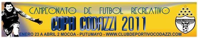 Club Codazzi – Copa 2011