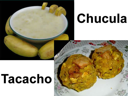 Chucula y Tacacho