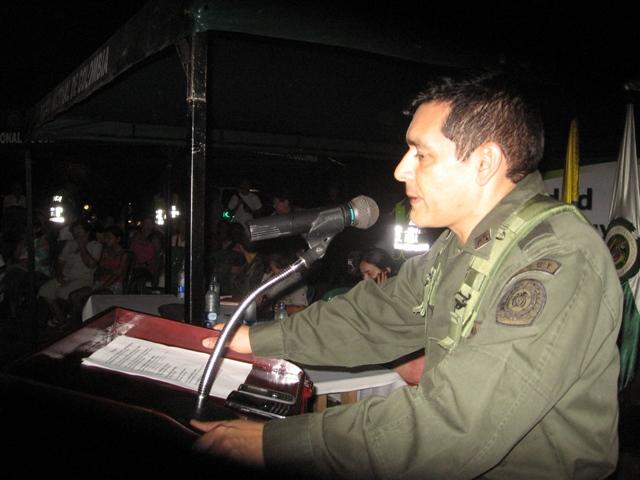 Continúan la Policía Nacional con los jueves comunitarios en Mocoa Putumayo.