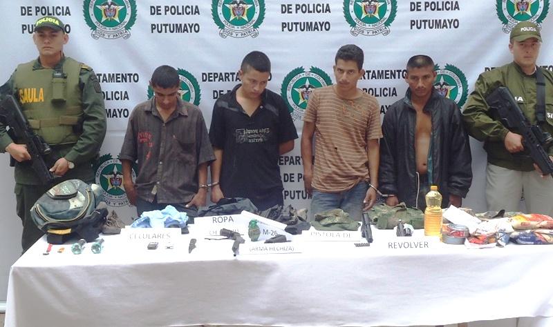 Capturados Cuatro Secuestradores en la Capital del Departamento