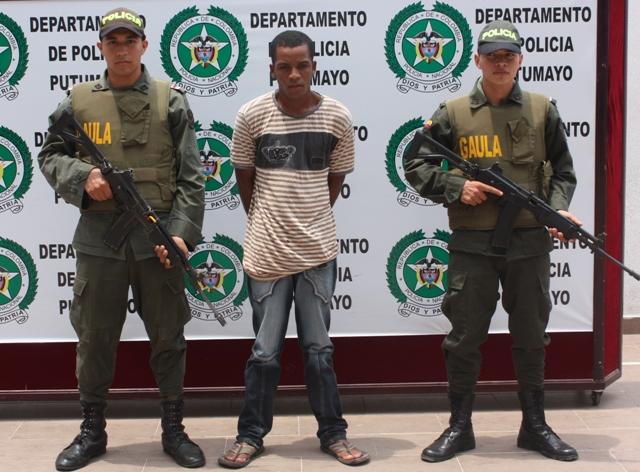 Capturado extorcionista en Mocoa