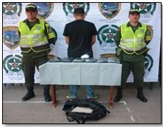 Policia evita que 6.000 dosis de marihuna lleguen a nuestra Capital