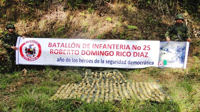 280 minas fueron halladas en zona rural de Mocoa