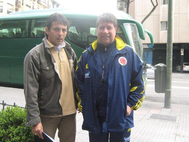 Futbol Putumayense en la Madre Patria