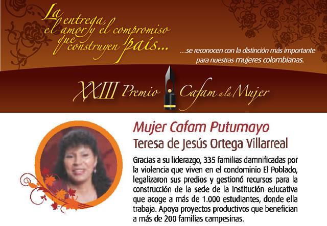 XXIII Premio Cafam a la Mujer