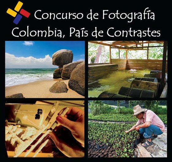 Concurso Nacional de Fotografía: «Colombia, País de Contrastes»