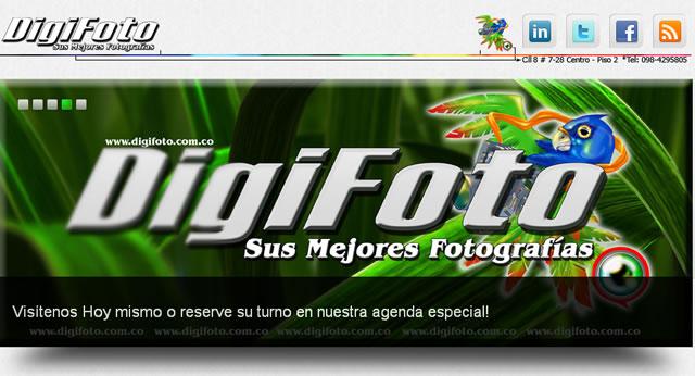 Digifoto en Internet