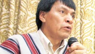 Gabriel Muyuy y el Programa Presidencial pra el Desarrollo de los Pueblos indígenas del Gobierno de Juan Manuel Santos
