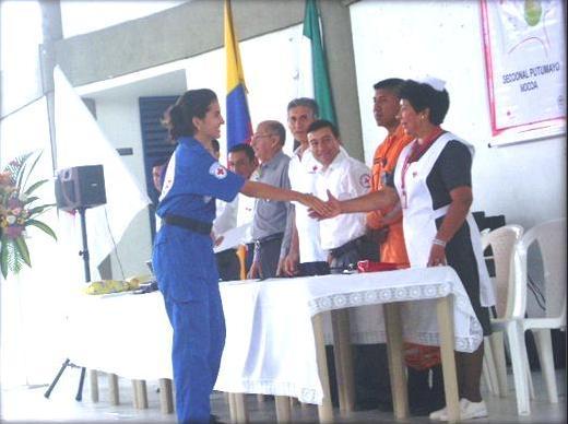 Cruz Roja Colombiana presente en Villagarzón