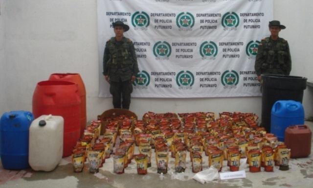 Incautado licor adulterado y de contrabando en Sibundoy Putumayo.