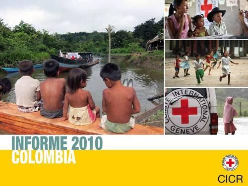 Colombia: más de 180.000 personas recibieron un apoyo directo en 2010
