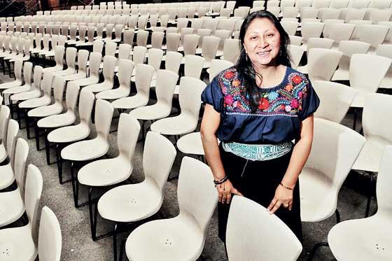 Antonia Agreda: 'Bogotá es como un cóndor volando'