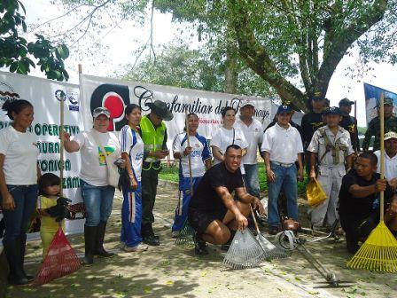 Limpieza del río Putumayo: Un hábito institucional en Leguízamo
