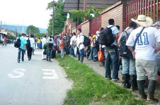 Marcharán 3 mil indígenas durante el Día del Trabajo