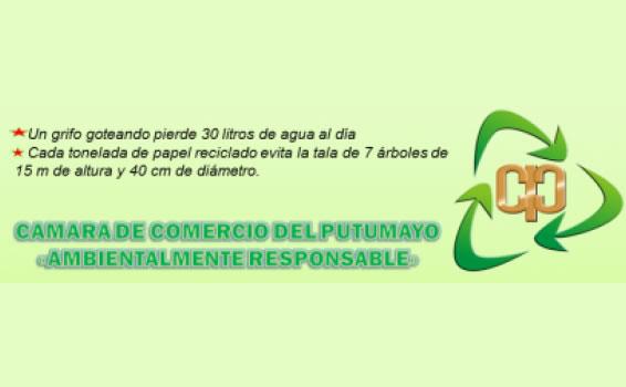 Cámara de Comercio del Putumayo apoya el mes del reciclaje