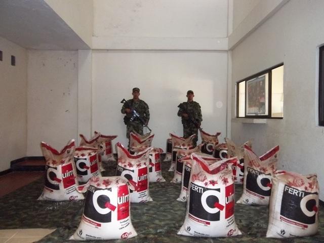 Tres toneladas de explosivos han sido halladas por el Ejército, en menos de 20 días en el  área rural de Puerto Asís y San Miguel.